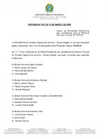 PORTARIA – Nº 011 – Comissao avaliadora das Camaras Tecnicas