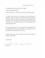 Carta de desligamento – CTMA
