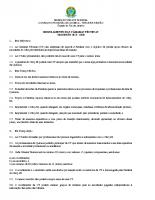 regulamento-Editado na Plenária 805, 28 de maio de 2019.