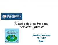 Palestra Gestão de Resíduos na Indústria Química CRQ 28082019